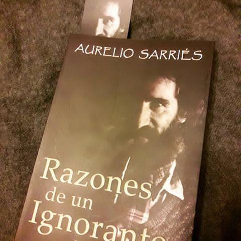 El vasco Aurelio Sarries presenta su libro